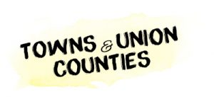 Towns & Union Counties