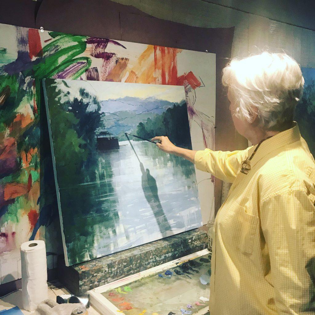 Libby Mathews at Timpson Creek Gallery